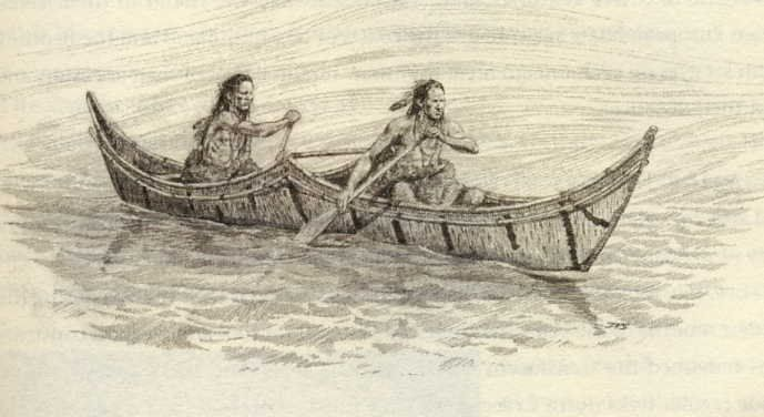 About Native Americans Beothuk Indian Canoes
