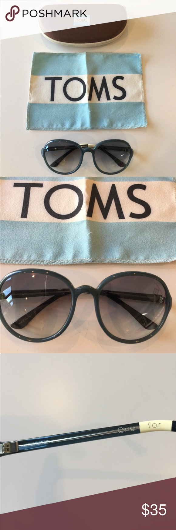 Toms classic Sunglasses in Jade color Authentic Toms classic 201 one ...