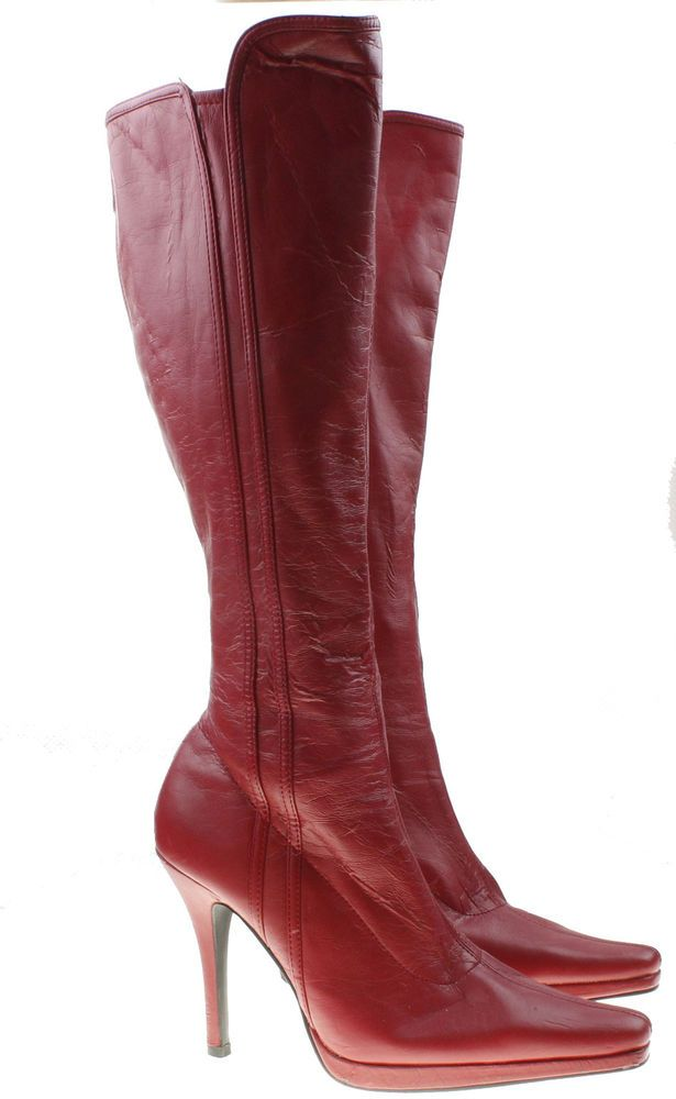 5d298b2f548 CL by Chinese Laundry Red Flashlight Knee High Boots Booties Womens 9   ChineseLaundry  boots  fashionistas