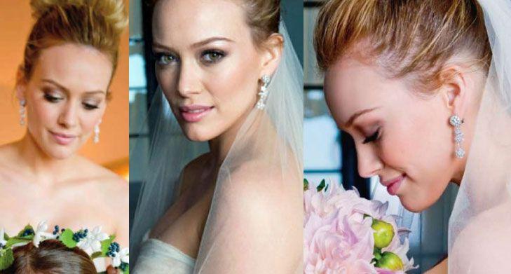 Hillary Duff Wedding Makeup Mary Kay Bridal Looks Wedding Makeup Hillary Duff Wedding