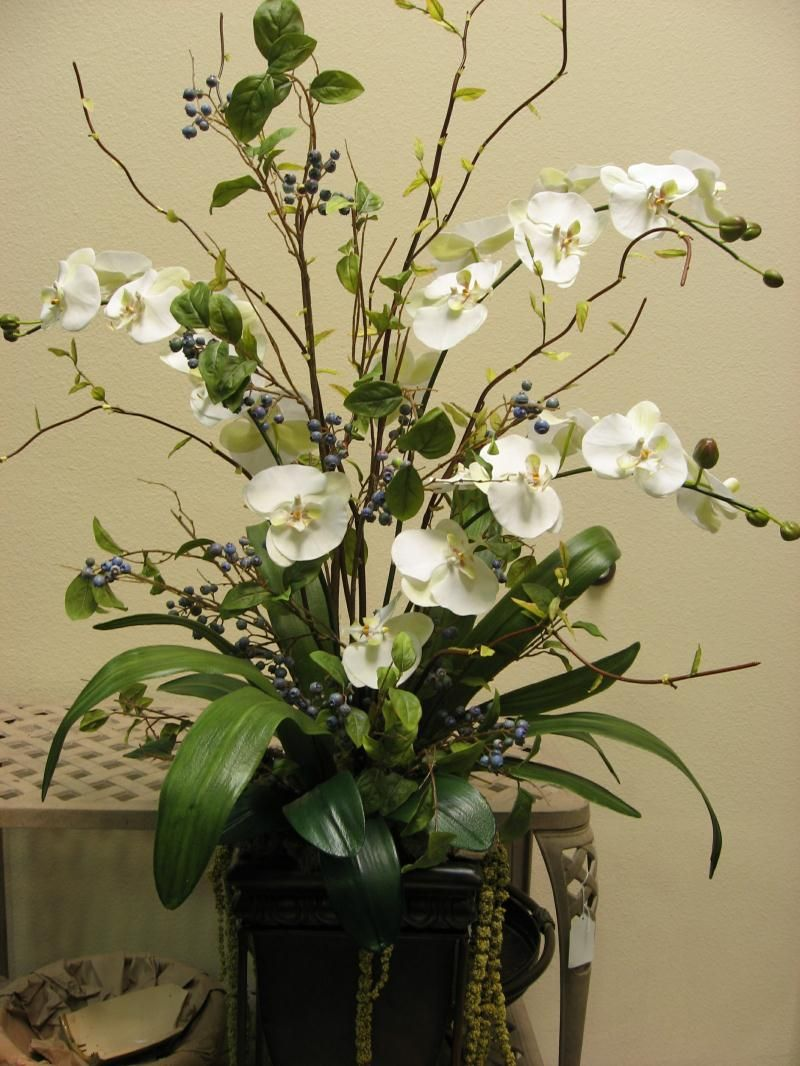 Artificial Arrangements For The Home Floral Arrangements And Artificial Plant Artificial Bloom Home