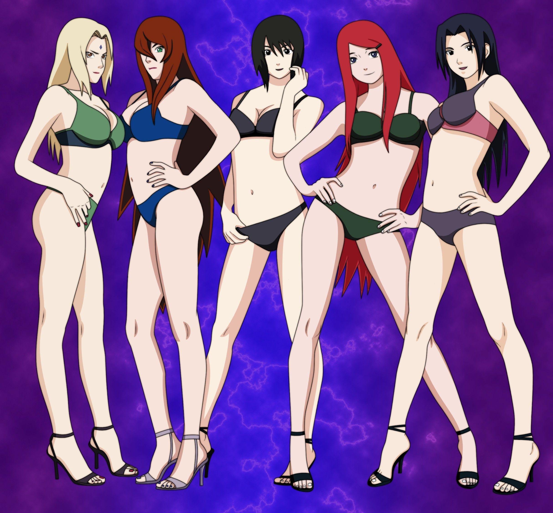 Naruto Girls In Bikini