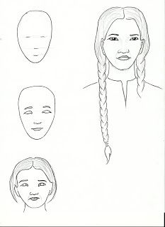Art class ideas native american st kateri tekakwitha for St kateri coloring page