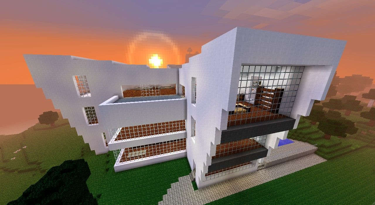 minecraft haus modern 06 | Minecraft | Pinterest | Haus and Pocket ...