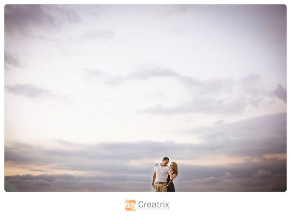 So I'm the type to shoot for the edit, so while I'm actually working with clients, I'm already formulating what the final image will look like. A lot of photographers will tout the idea you should get it right in camera, but really….who wants washed out skies?? So here is the before and after shot: …