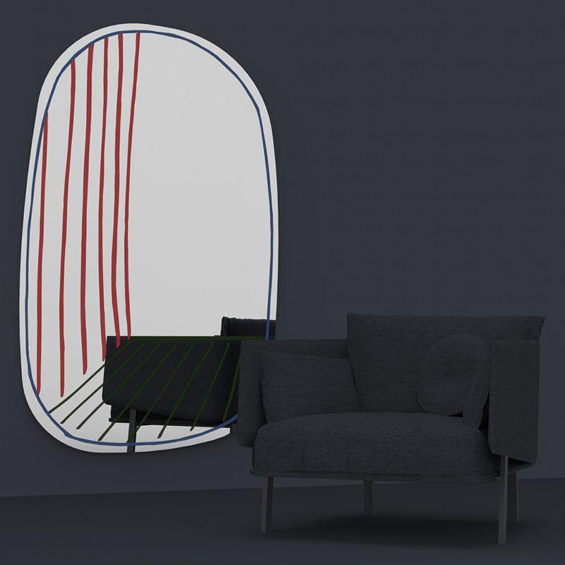 specchio New Perspective Mirror Bonaldo - @bonaldo
