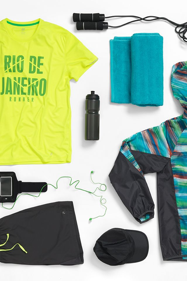 Vacation checklist. Work out in these lightweight essentials.