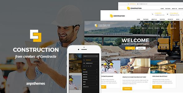 Construction business html5 template construction business construction business html5 template by anps construction html template is specifically made for construction companies in mind it is focused on creating flashek Choice Image