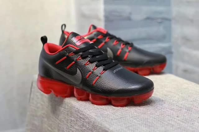 Nike Air Max 2018 Leather Men shoes #Black #Red olny $67 for free shipping