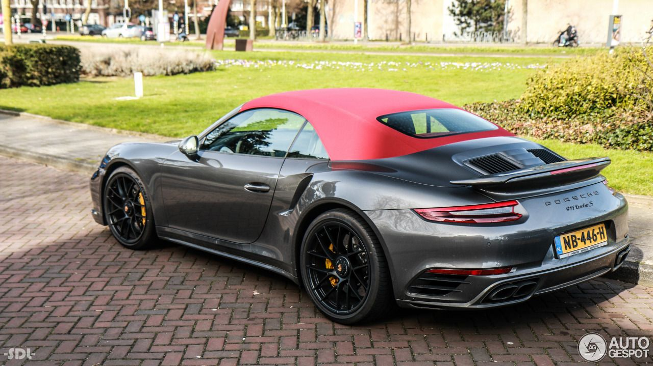 Porsche 991 Turbo S Cabriolet MkII 2 | Porsche 991, Porsche 911 cabriolet,  Porsche cabriolet