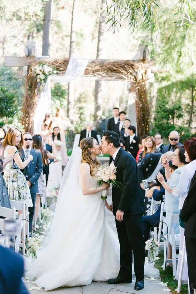 A Rustic and Elegant Calamigos Ranch Wedding Feathered