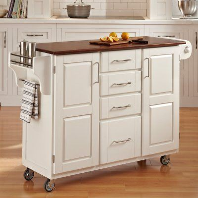 Home Styles Design Your Own Kitchen Island Oak Wood   9100 1016G