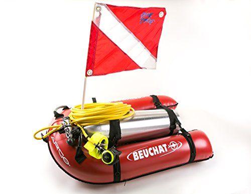 Beuchat Argo Float Diver Kit With Brownies 50 Foot Hose Regulator Gauge Spg Flag Third Lung Hookah System Scuba Diving Equipment Diving Gear Scuba Diving Tank