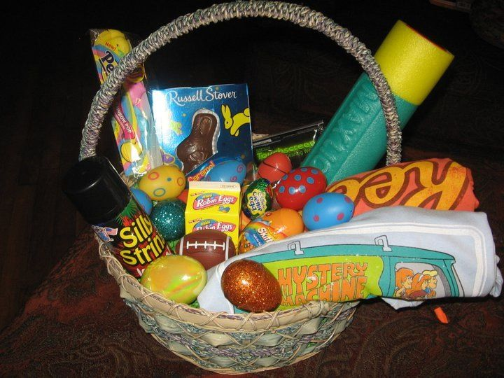 Teenage boy easter basket need the ideas lol ive gotta try teenage boy easter basket need the ideas lol negle Images