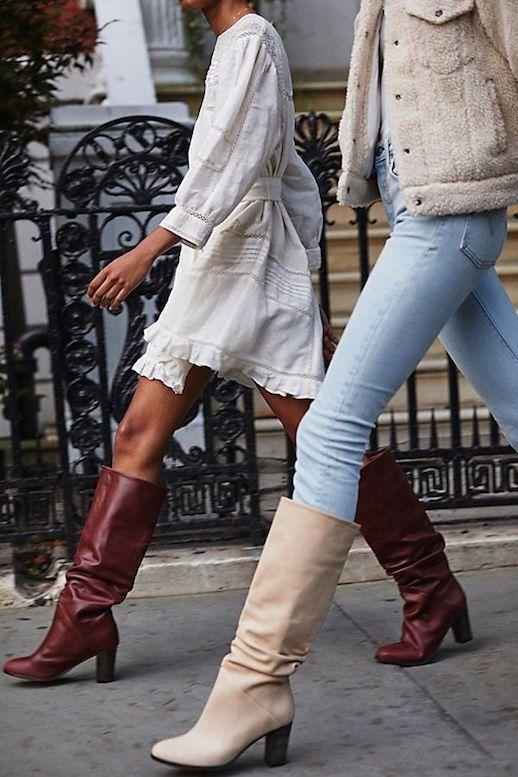 Die einzigen kniehohen Stiefel sollten sich jetzt kaufen #lefashion