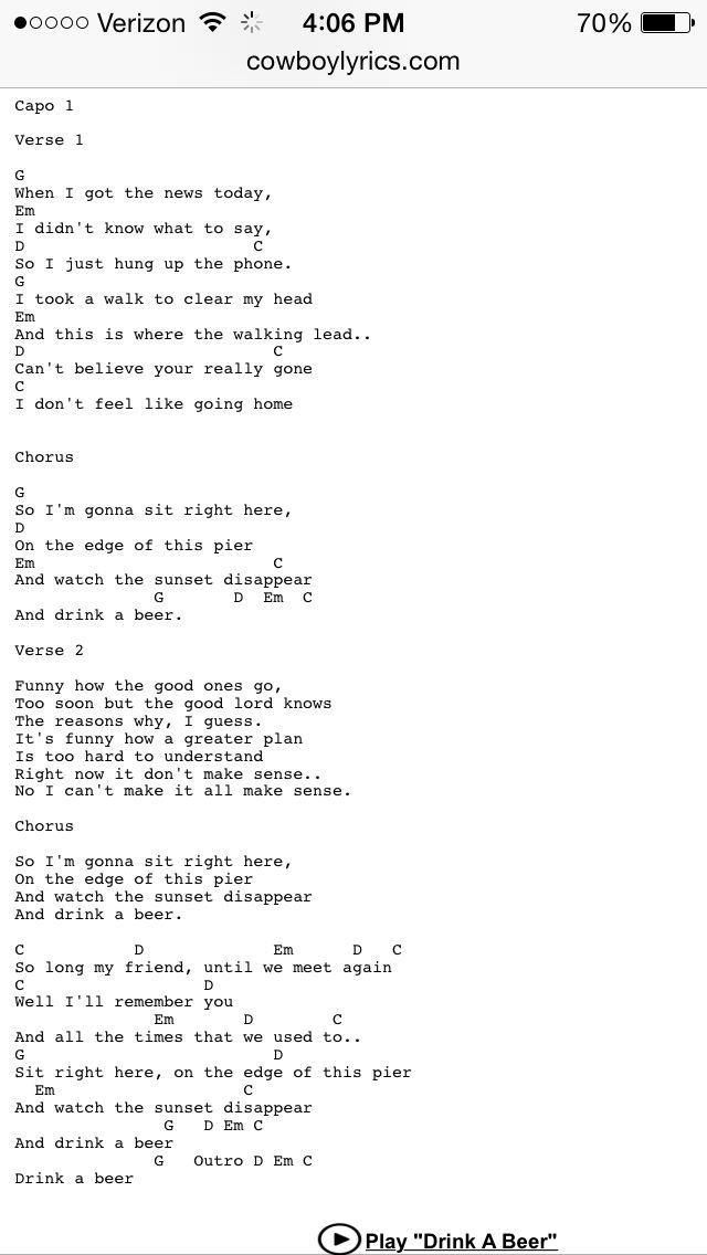 Timing And Chord Progression Luke Bryan Songs Luke Bryan Songs