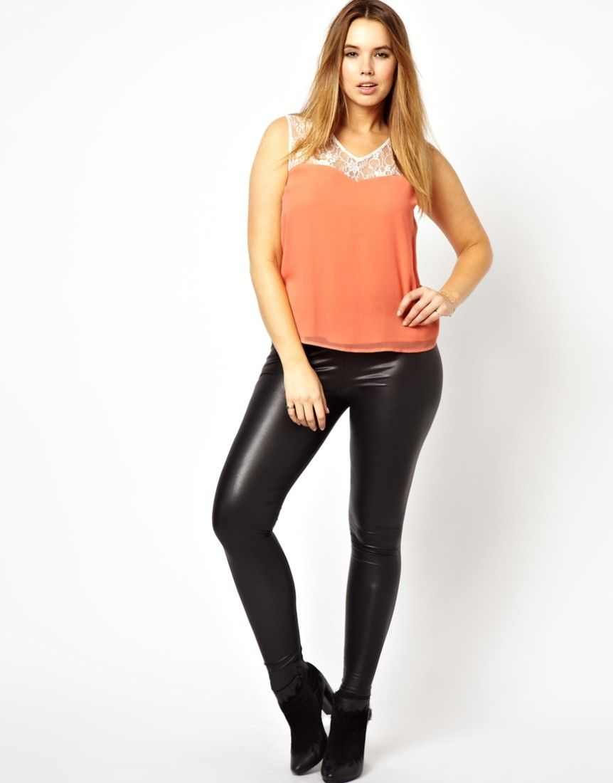 plus-size-leather-leggings-862x1100 (862×1100) | how to wear