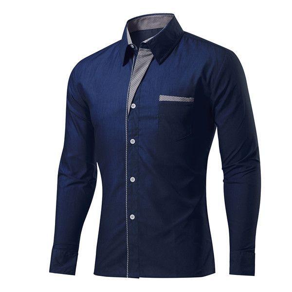 Slim Fit Business Shirt