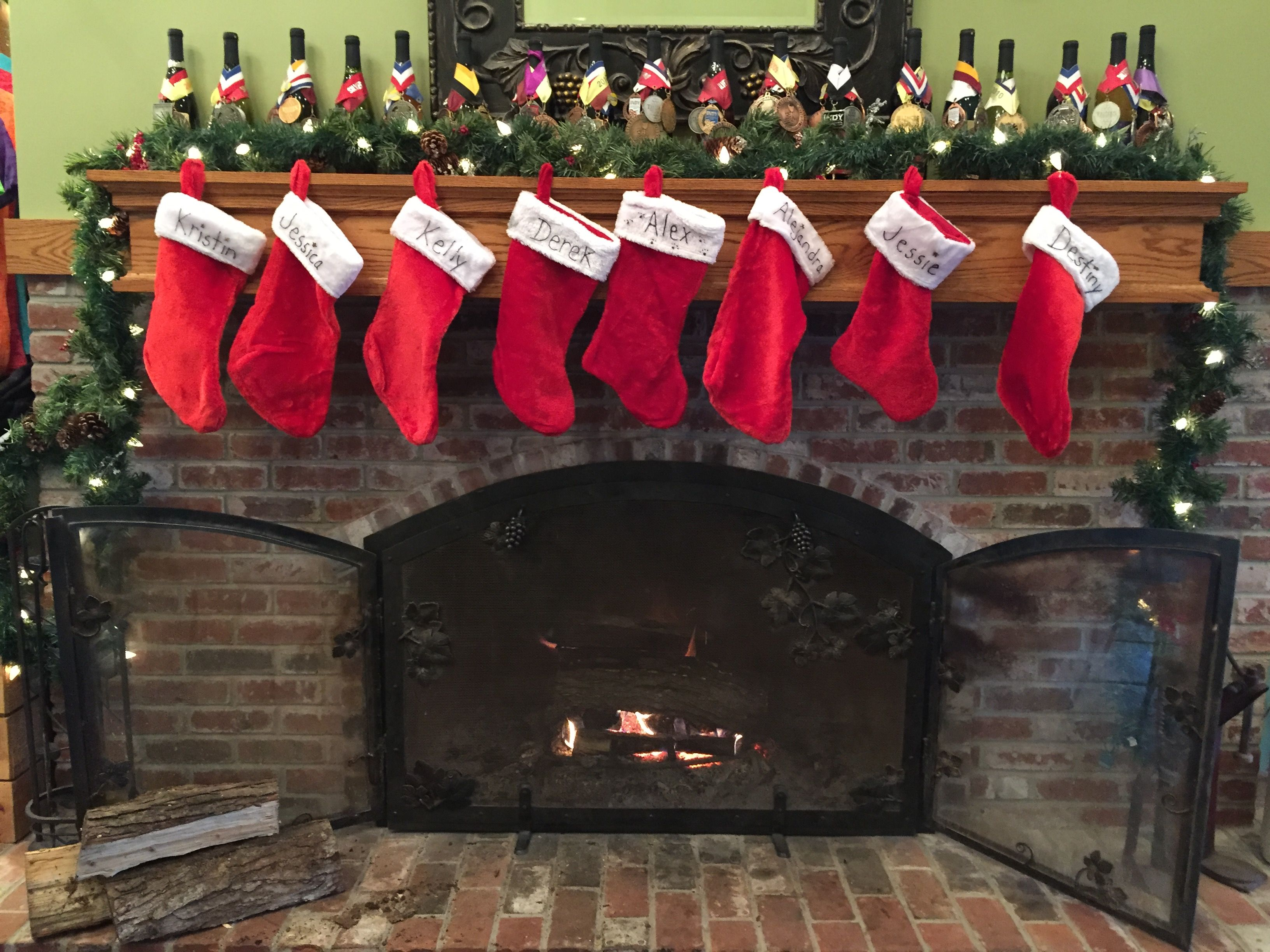 What A Cozy Place To Spend A Chilly Day Fireplace Winery Wine Starviewvineyards Cozy Place Holiday Decor Home Decor
