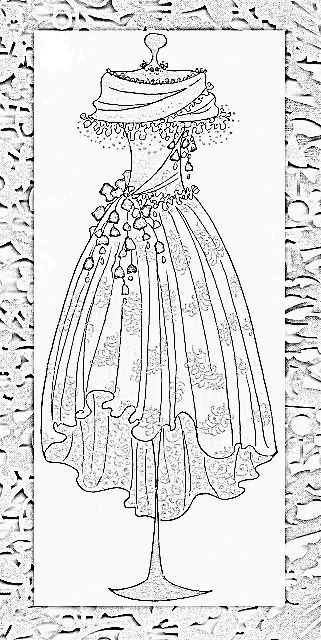 Vintage Patterns Coloring Pages. 68c224bf7902291d4417caaa6fcb2a21 jpg  321 640 Colouring PagesColoring BooksVintage Dress PatternsVintage coloring pages