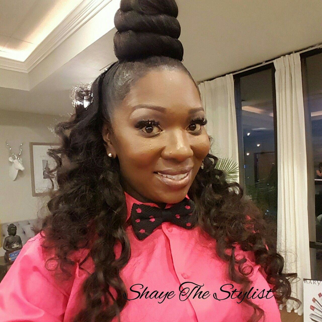 top knot | pronto quick weave text (817)714-8362 to book include