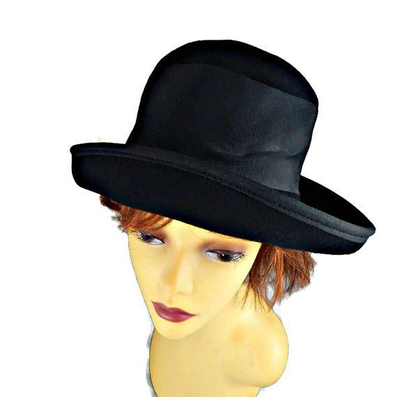 Michael Howard Hat Derby Black Ladies  ca92c5d2bae3