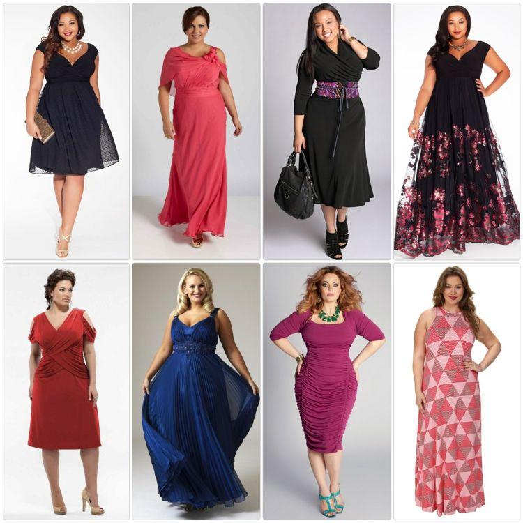 Kleider in großen Größen: elegante Mode für kurvige Damen | Models ...