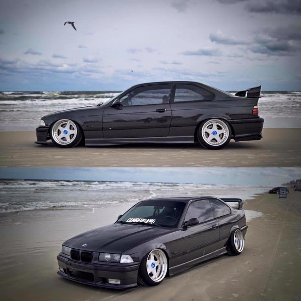 Bmw Z3 Drift Car: E 36 Coupé Slammed