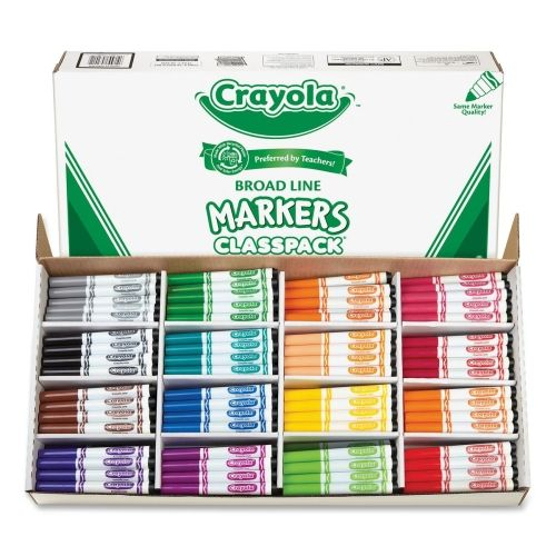 Crayola Markers Marcadores Cosas De La Escuela Utiles Escolares