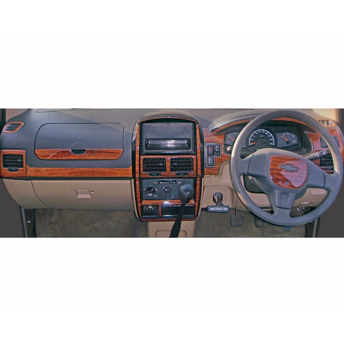 Autographix Basic Dashboard Trim For Chevrolet Tavera Body Vehicles