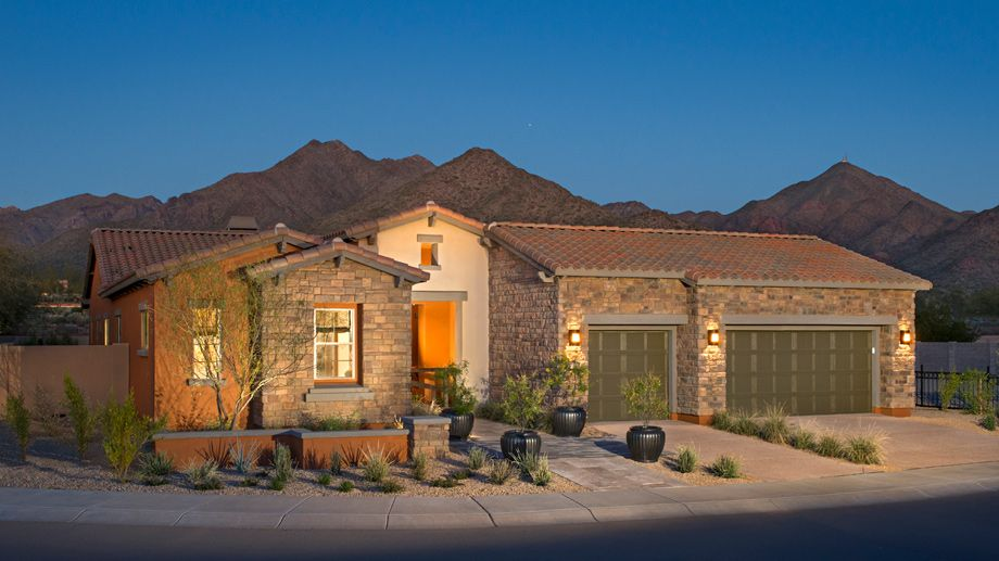 New luxury homes for sale in scottsdale az windgate for Beautiful ranch houses