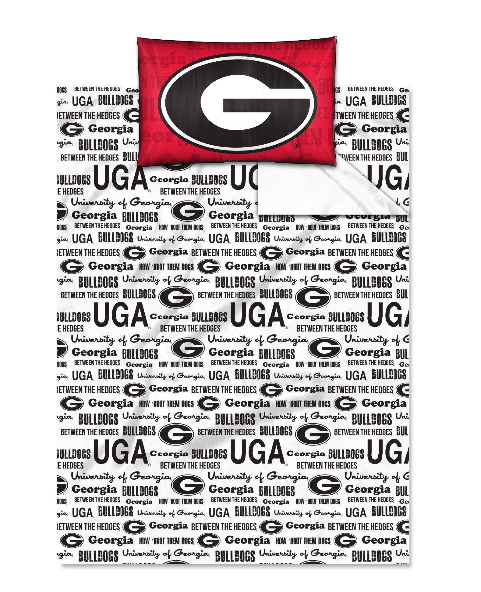 Georgia College Twin Sheet Set Anthem Series