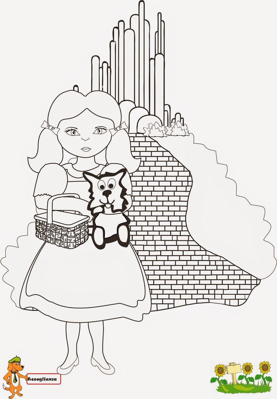 Disegni Da Colorare Per Bambini Mago Di Oz.Prima Tappa Dorothy Ed Il Magico Mondo Di Oz Nel 2020 Con
