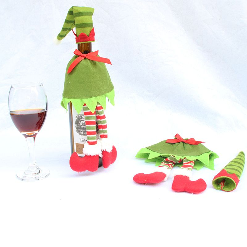 Red Wine Bottle Cover Bags for Christmas Decoration Supplies Home Party Decor #clothing,#shoes,#jewelry,#women,#men,#hats,#watches,#belts,#fashion,#style