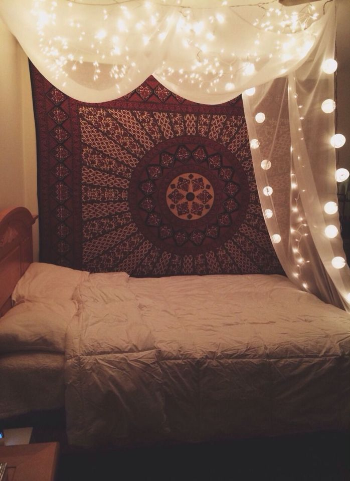 I like the idea of this I had a net at one point over my bed but