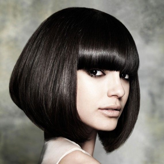 Superb Liquorice Brown Hair Colour Love This Pinterest Fringe Hairstyle Inspiration Daily Dogsangcom