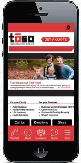 Insurance apps provide an easy way to enable customers to