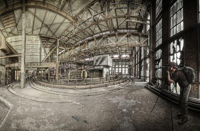 CriticalMass at the mine by odin's_raven, via Flickr