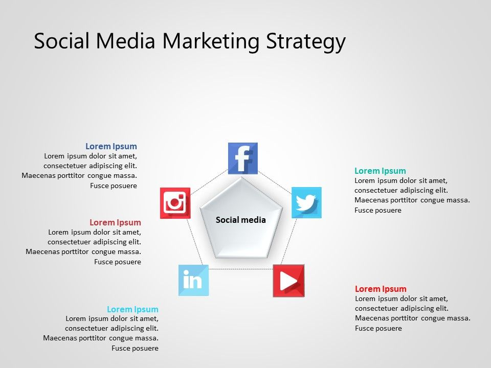 Use Social Media Marketing PowerPoint Template to showcase