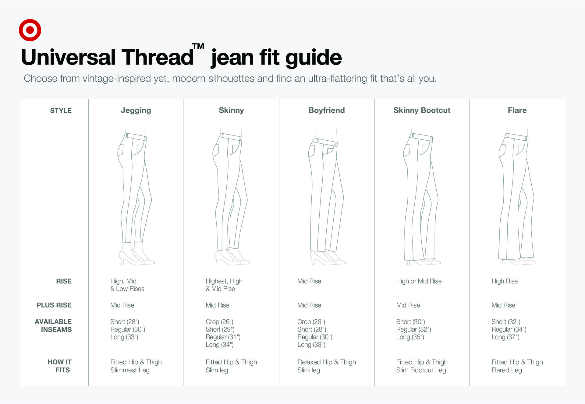 502b88287993 Women's High-Rise Skinny Jeans - Universal Thread™ Black : Target ...