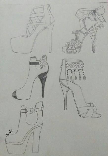 Photo of 24 trendy fashion design sketches shoes moda