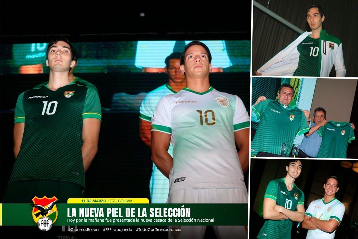 Bolivia 2020 21 Marathon Home And Away Kits Football Fashion Org Em 2020 Futebol