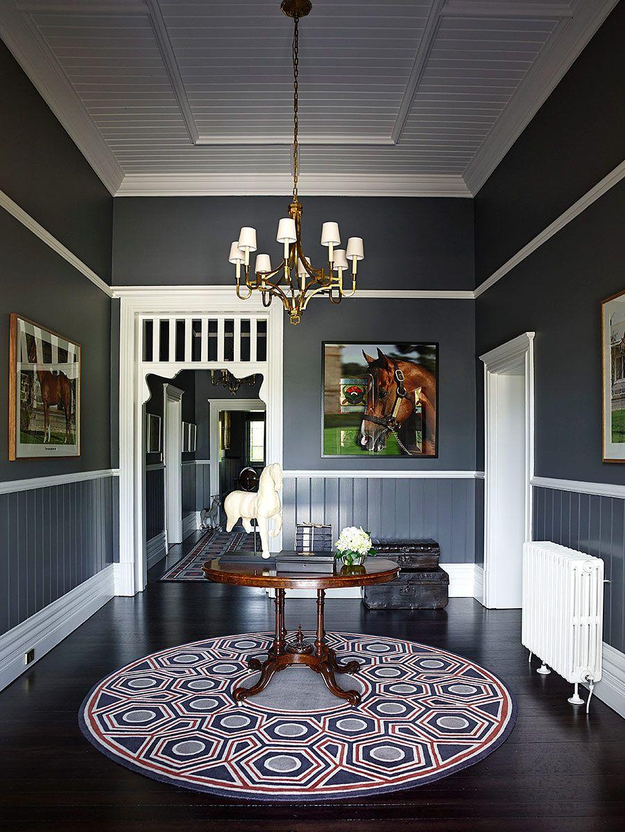 Residencia de inspiraci n ecuestre entrada con estilo pinterest casas dise o de - Carrera de arquitectura de interiores ...