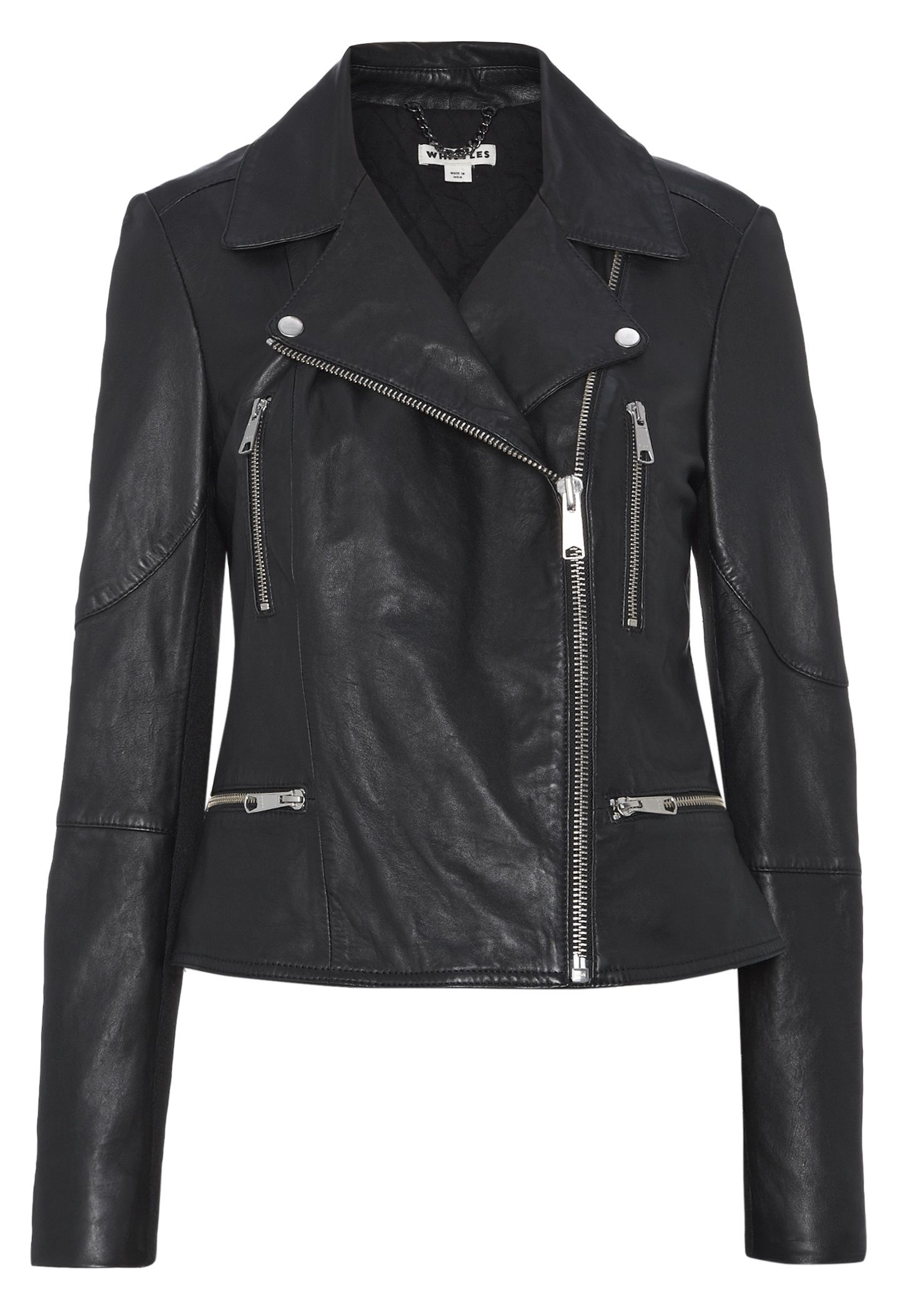 Moments Biker jacket dressing is an art form.This trans