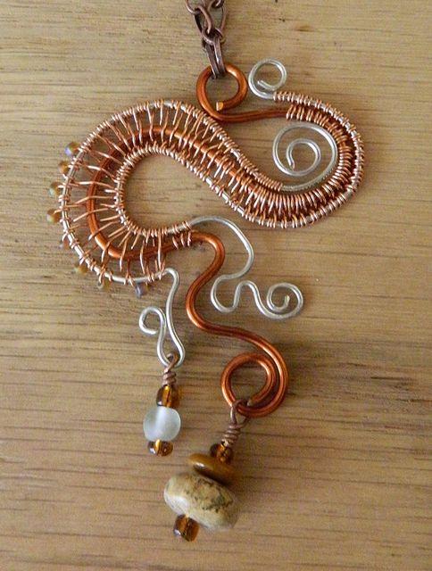 Wire Weaving by RoyceCreative, via Flickr