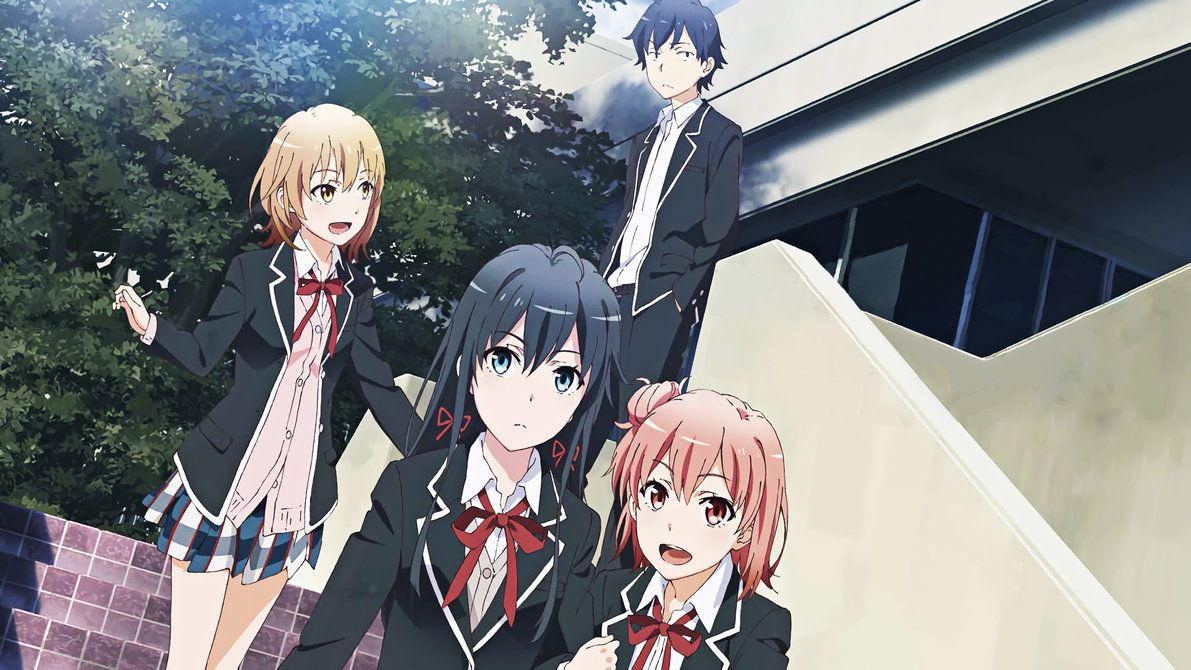 Yahari Ore no Seishun Love Comedy wa Machigatteiru by ...