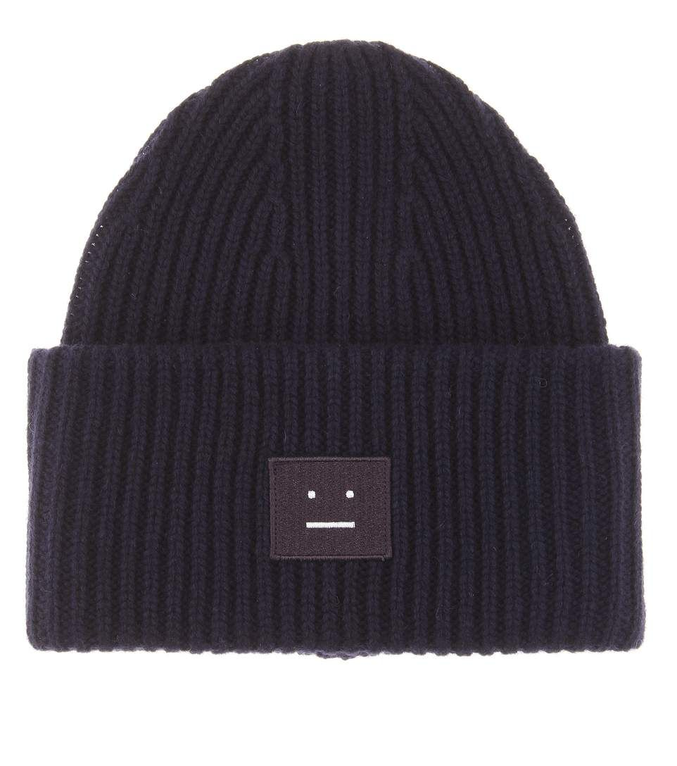 ACNE STUDIOS Pansy wool hat. #acnestudios #hats