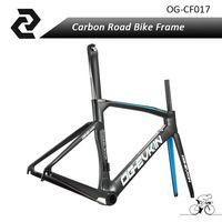 OG-EVKIN Aero Carbon Road Bike Frame Bicycle Frameset Road Bike Frames UD BB386 Matte Size 48/50/52/54cm