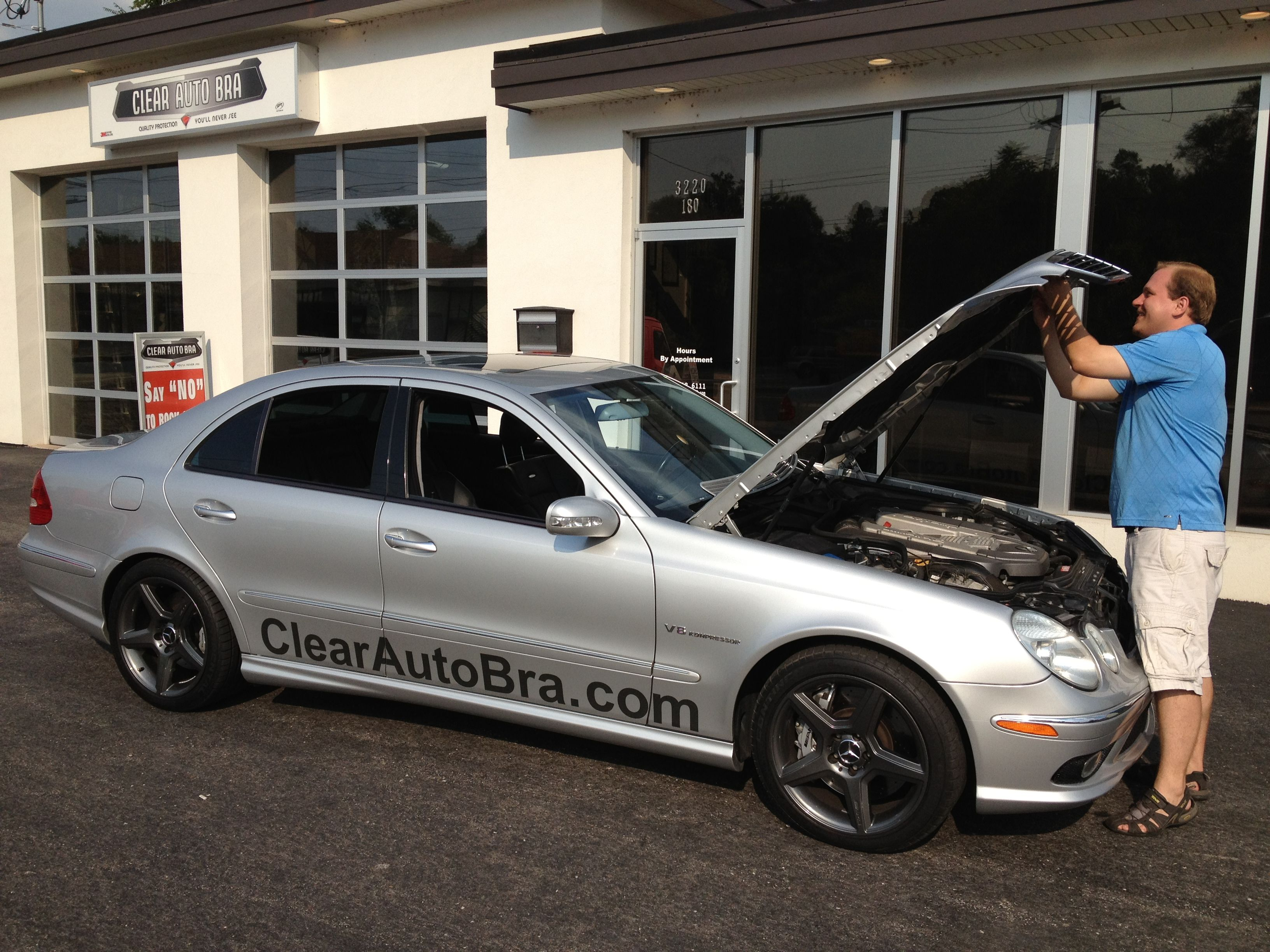 BMW 650 Clear Auto Bra St Louis MO