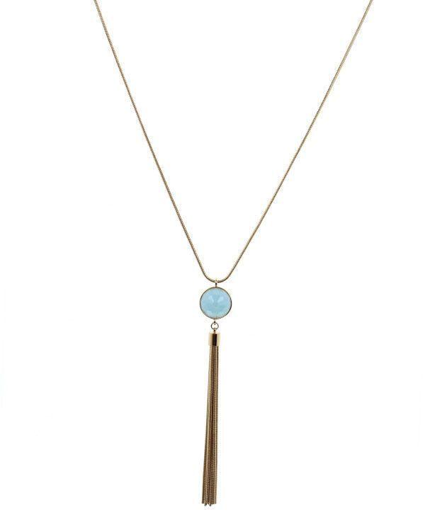 Rowan Circle Pendant Necklace